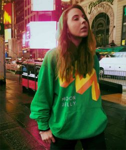 Win a Moon Jelly hoodie