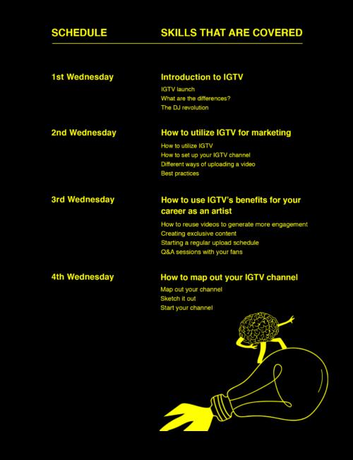 Schedule Instagram TV Course