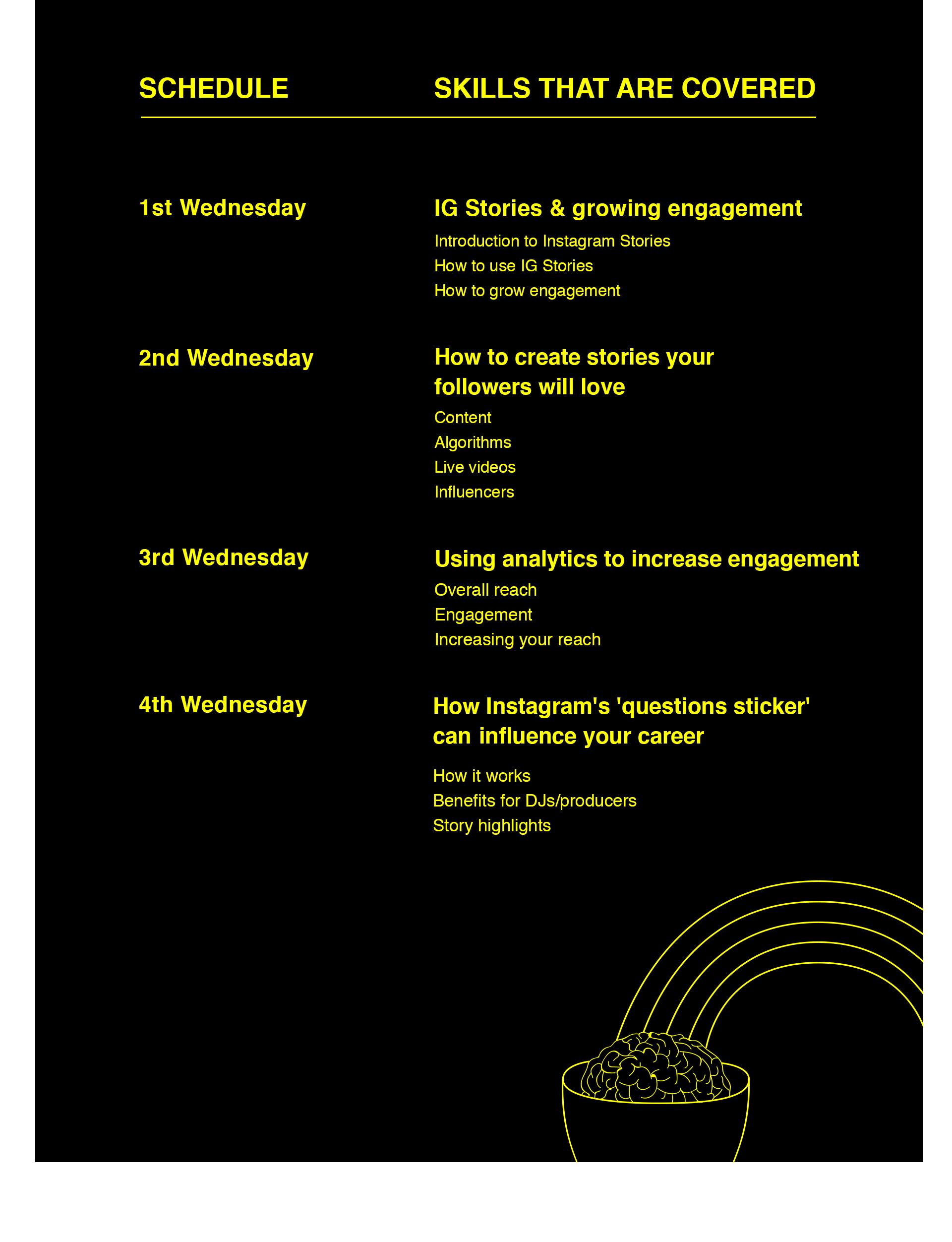 Schedule Instagram Stories Course