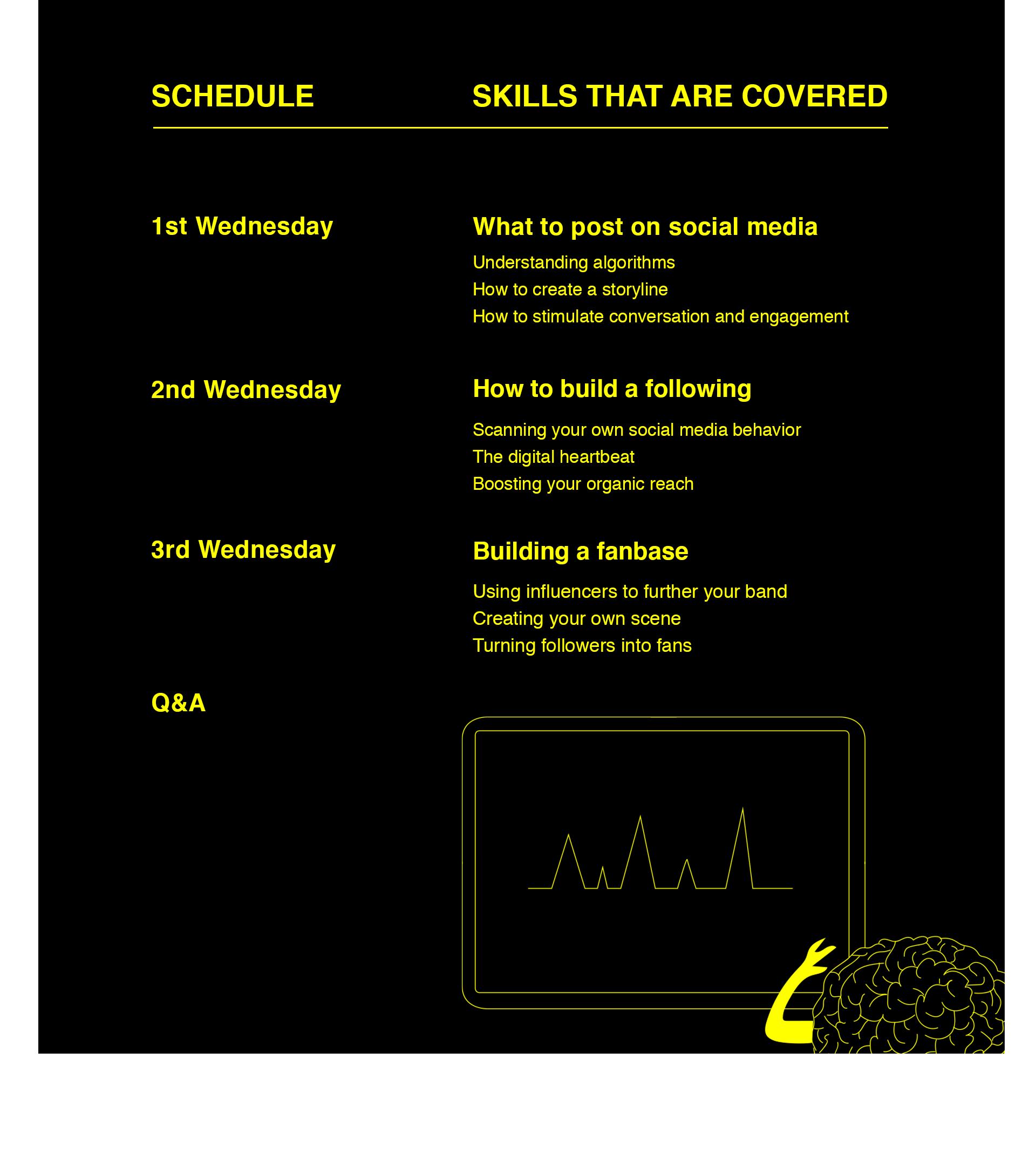 Schedule Social Media Course